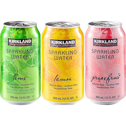 Kirkland Asst Flavor Sparkling Water 35/pk (355ml)