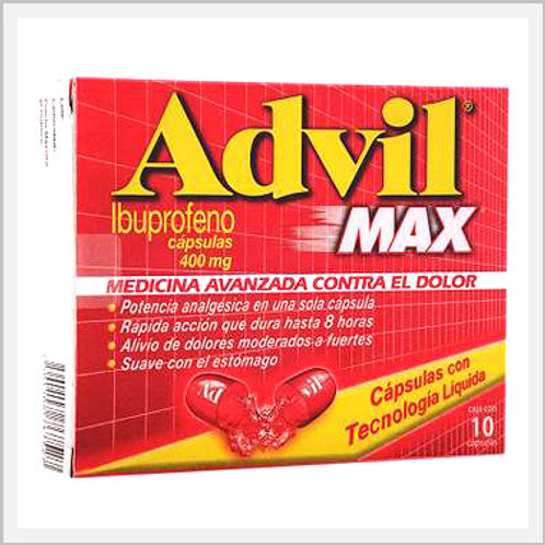 Advil Max (400 mg/10 count)