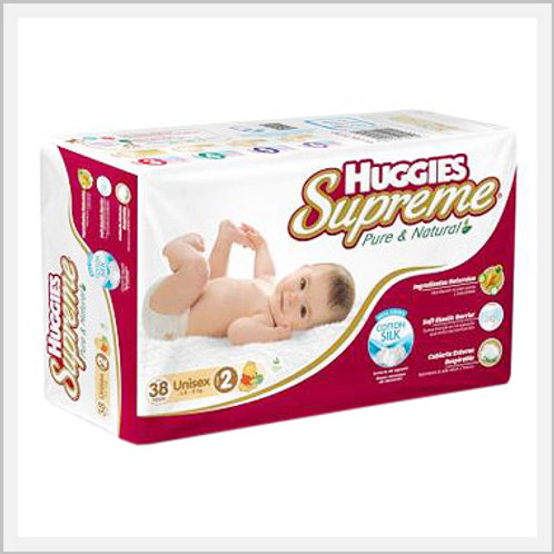 Huggies Supreme Diapers Stage 2 Unisex (36 count)