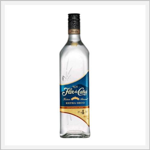 Flor de Caña Rum 4 Years Extra Dry (750 ml)