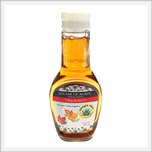 Agave Syrup Maple Flavor Organic (345 g)