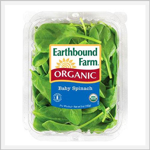 Baby Spinach Organic (454 g)