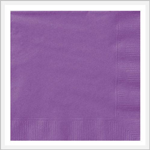 Colored Paper Napkins No Design (8 count)