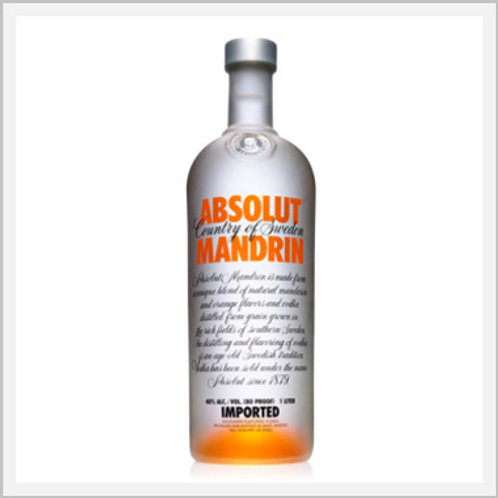 Absolut Mandrin Vodka (750 ml)