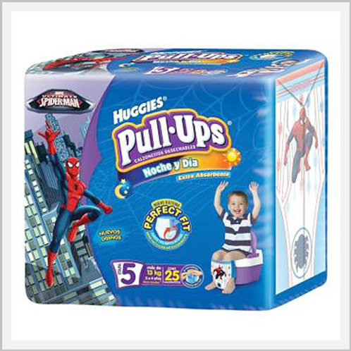Pull Ups Diapers Stage 5 Boys (25 count)