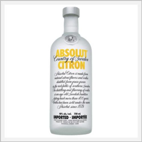 Absolut Citron Vodka (750 ml)