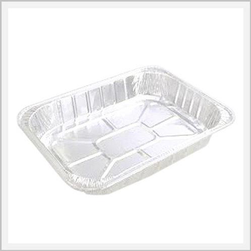 Aluminum Foil Cooking Pans (2 pcs/25 x 34 x 5 cm)