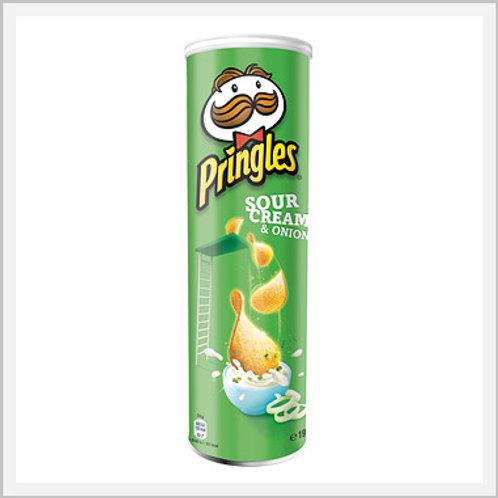 Pringles Sour Cream & Onion Flavor (124 g)