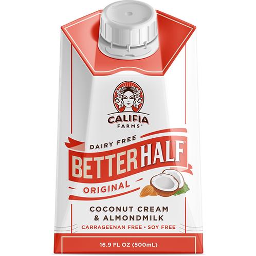 Better Half Coconut Cream & Almond Milk  (500 ml)