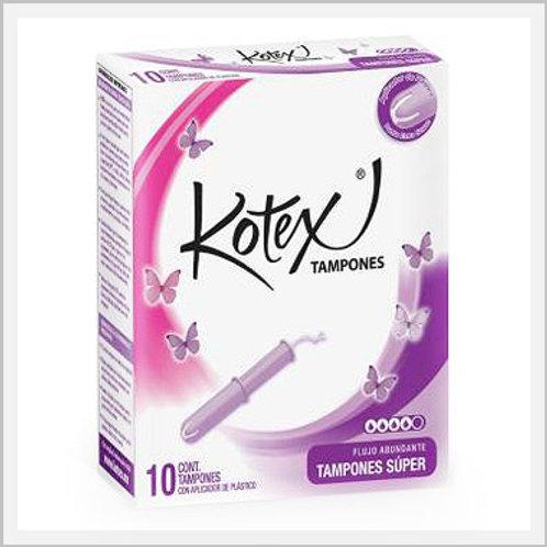 Kotex Tampons Super (10 count)