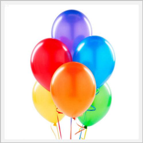 Happy Birthday Latex Balloon (1 count)