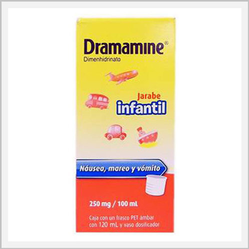 Dramamine For Kids (250 mg/100 ml)