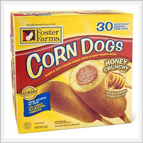 Corn Dogs Jumbo Honey Flavor (8 count/800 g)