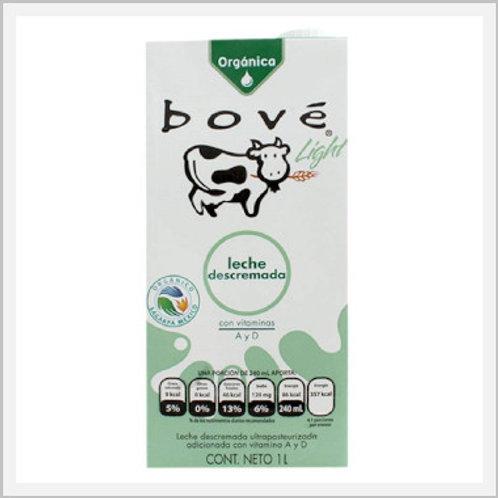 Bove Organic Light Lactose Free Milk (1 lt)