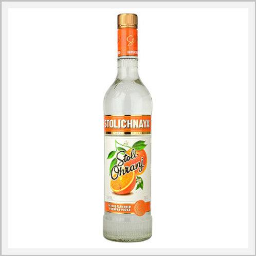 Stolichnaya Stoli Ohranj Vodka (750 ml)