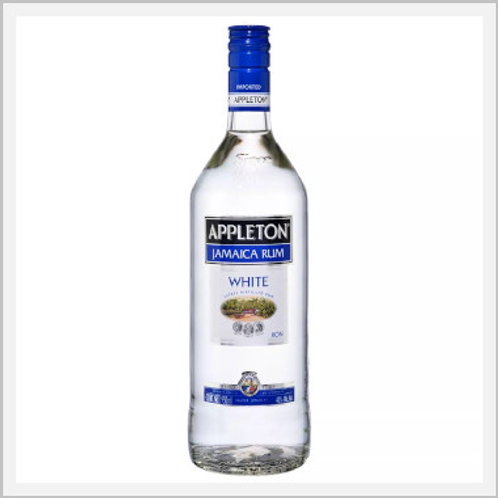 Appleton Jamaica White Rum (950 ml)