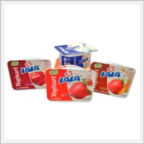 Yogurt Cups Assorted Flavors 6 Pack (125 g each)