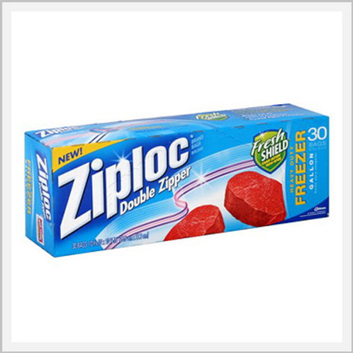 Ziploc Large Size Freezer Bags (15 count)