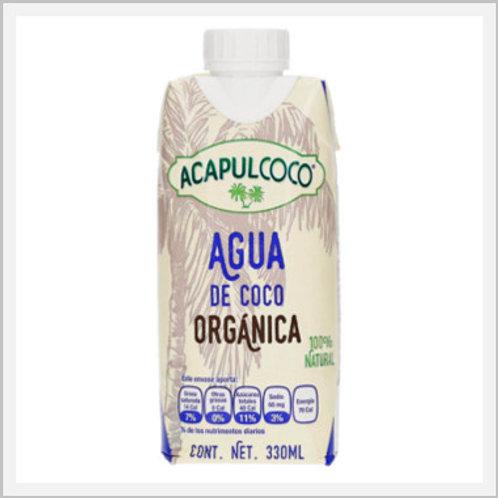 Coconut Water Organic Acapulcoco (330 ml)