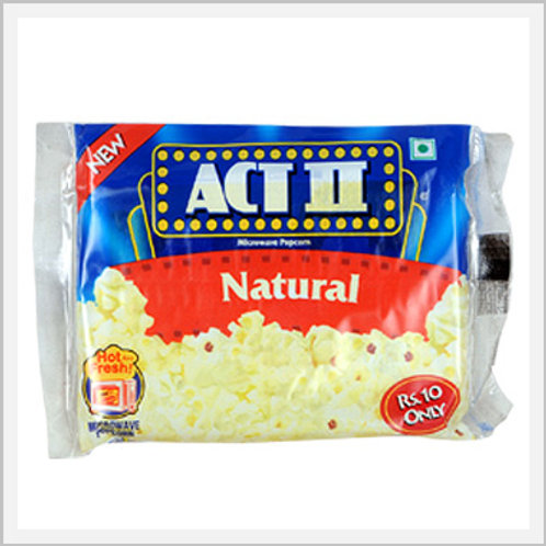 Popcorn Act II Natural Flavor (3 Pack/240 g)