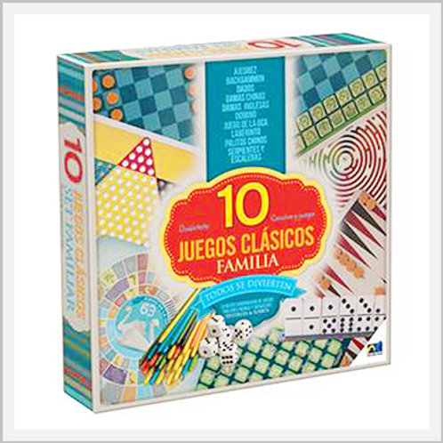 Classic Family Games 10 In 1