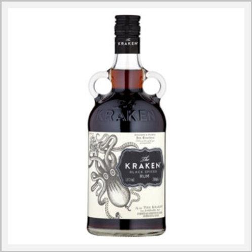 The Kraken Black Spiced Rum (750 ml)