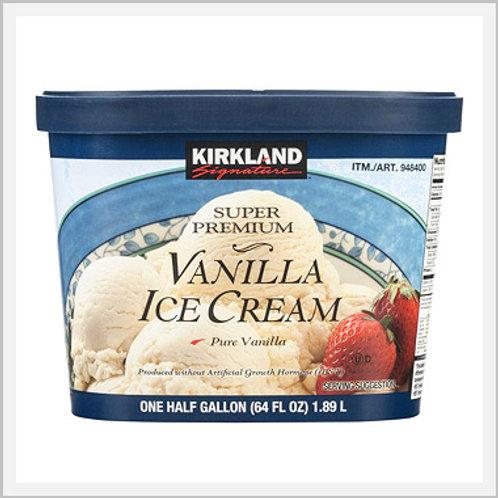 Kirkland Vanilla Ice Cream (2 containers/1.87 lt)