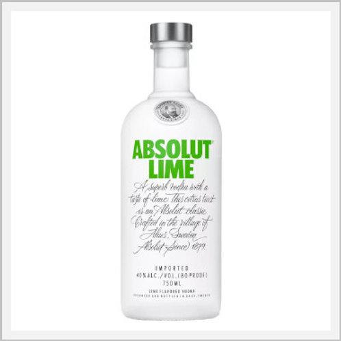 Absolut Lime Vodka (750 ml)