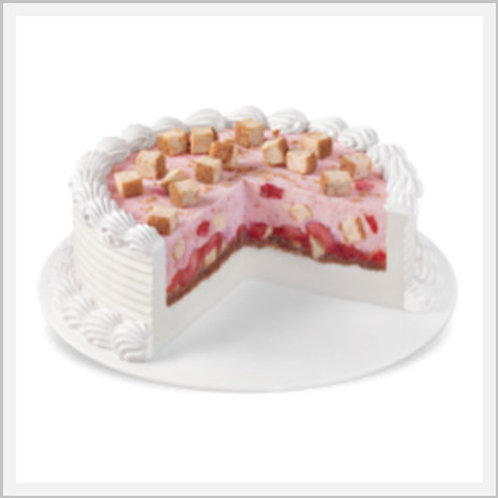 Dairy Queen Blizzard Strawberry Cheese Cake (12-16 slices)