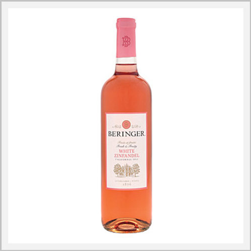 Beringer White Zinfandel Rose Wine