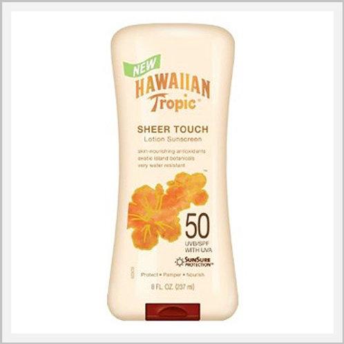 Hawaiian Tropic Sunblock Lotion 50 SPF