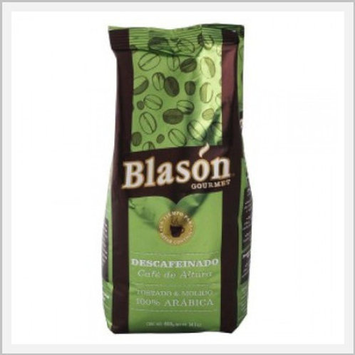 Blason Decaffeinated Roast & Ground Coffee (400 g)