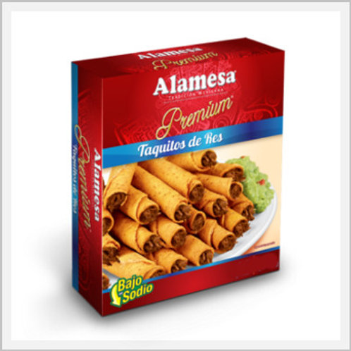 Beef Taquitos Frozen (30 count/1.08 kg)