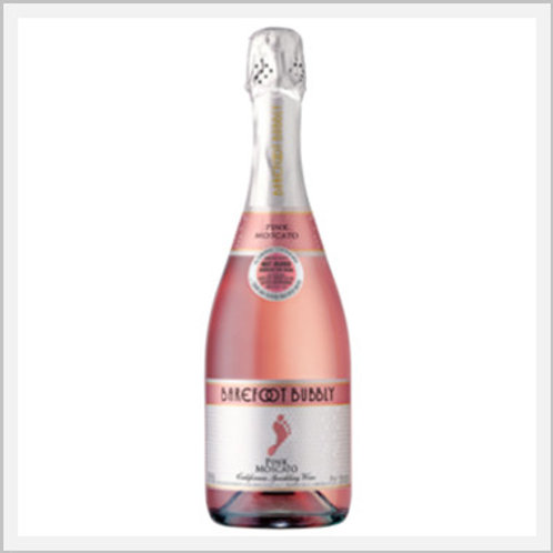Barefoot Bubbly Pink Moscato Sparkling Wine (750 ml)