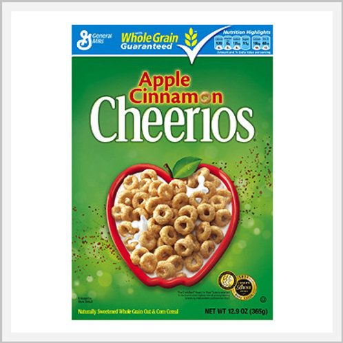 Cereal Cheerios Apple/Cinnamon (480 g)
