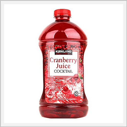 Kirkland Cranberry Juice (2.84 lt)