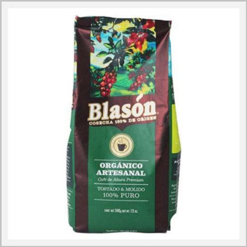 Blason Artisan Roast & Ground Organic Coffee (340 g)