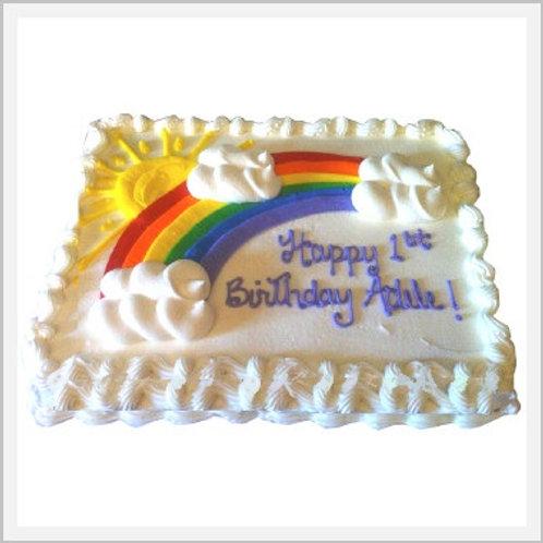 Double Vanilla Cake (48 slices/4.3 kg)