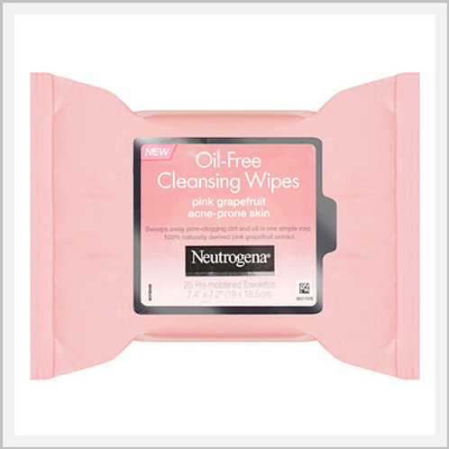 Neutrogena Oil Free Pink Grapefruit Cleansing Wipe