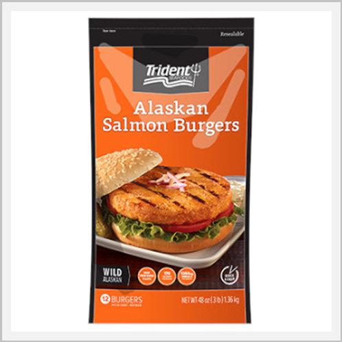 Alaskan Salmon Burgers Frozen (12 pieces/1.36 kg)