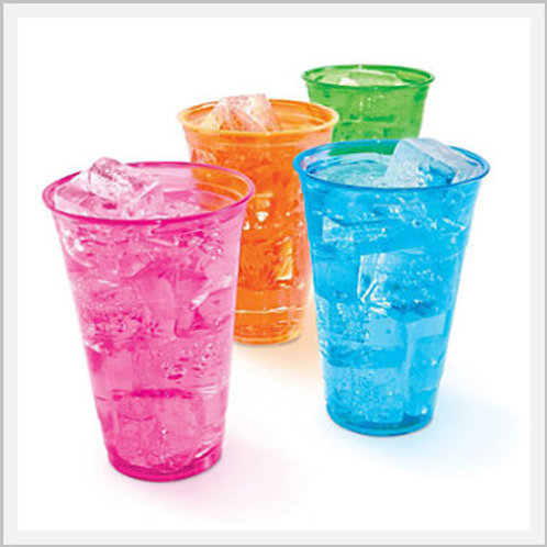 Colorful Solo Disposable Cups (8 count)