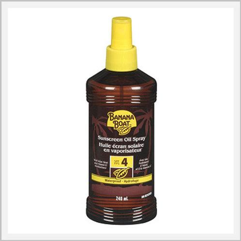 Banana Boat Sun Tan Oil Spray 4 SPF (236 ml)
