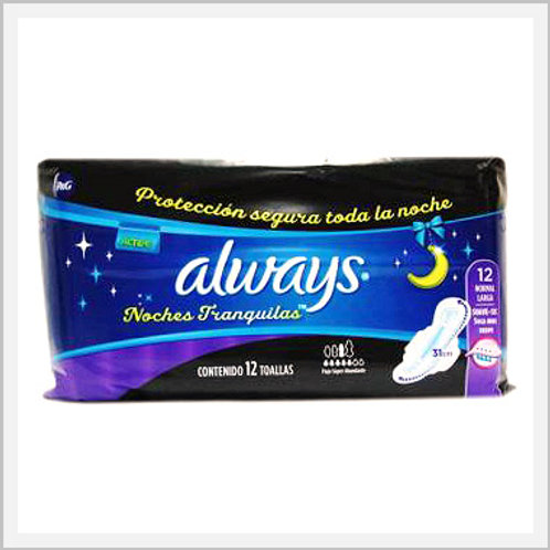 Always Active Sanitary Napkins With Wings Regular