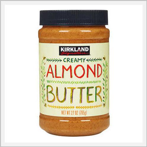 Kirkland Almond Butter Creamy (765 g)