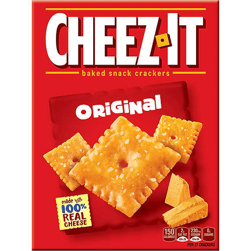 Cheez It Crackers (351g)