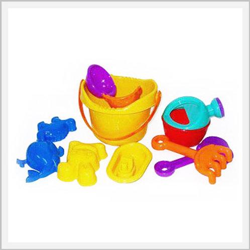Sand Beach Bucket Toys Pack