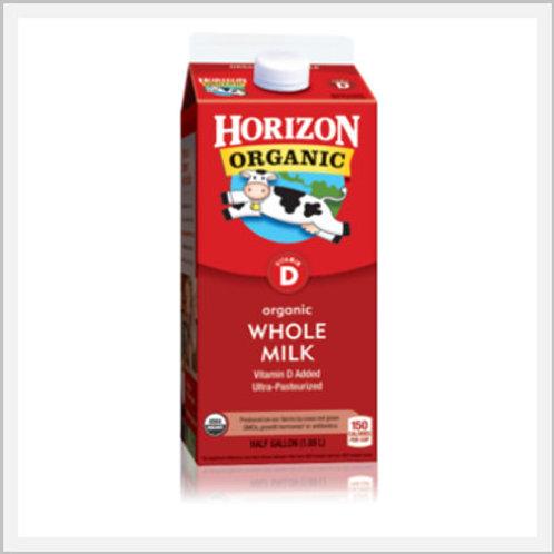 Organic Whole Milk (1.89 lt)