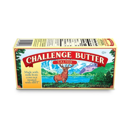 Challenge Butter Salted or Unsalted  4pk (454g)
