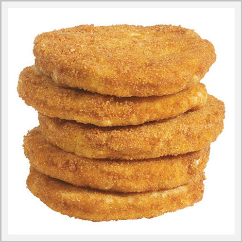 Hamburger Chicken Breaded Patties (7 pieces/700 g)