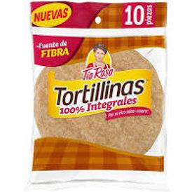 Flour Tortillas Whole Wheat 255g